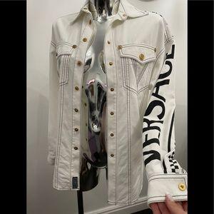 Versace set jacket and shorts